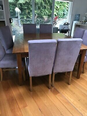 AU1000 • Buy 8 Seater Dining Table And Chairs