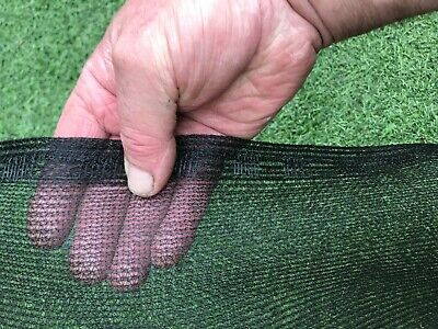 4m X 3m Garden / Black Greenhouse Shade /  Butterfly  Netting Pest Control • 17.50£