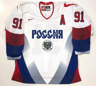 $499.99 • Buy Sergei Fedorov 1996 Team Russia Nike Authentic Jersey 52 New Detroit Red Wings