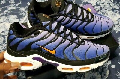 $85 • Buy Mens Nike Air Max Plus OG Purple Sneakers Size 13 -- EXCELLENT Condition
