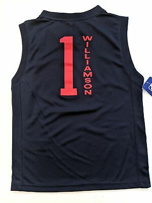 $29.99 • Buy YOUTH Zion Williamson New Orleans Pelicans Screen Printed Fast Lane Jersey