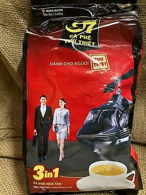 AU41.49 • Buy Vietnamese Trung Nguyen G7 Instant Coffee 3in 1 (100 X 16g)NEW STOCK 1.6kg