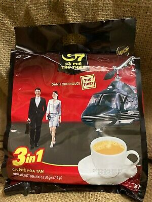 AU23.49 • Buy Vietnamese Trung Nguyen G7 Instant Coffee 3 In 1 50 X 16g NEW STOCK 800g