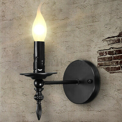 Retro Vintage Style Industrial Wall Mounted Lights Lantern Rustic Sconce  • 14.08£
