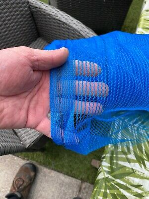 1.8m X 10m Garden / Blue Greenhouse Shade Butterfly  Netting Pest Control • 22£