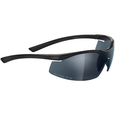 Military Patrol Security Shooting Sport Sunglasses F-18 Black Frame And 2 Lenses • 49.95£