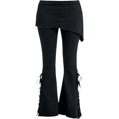 URBAN FASHION - 2in1 Boot-Cut Leggings With Micro Slant Skirt • 21.99£