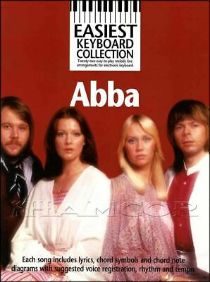 Abba Easiest Keyboard Collection Sheet Music Book Mamma Mia SAME DAY DISPATCH • 9.33£