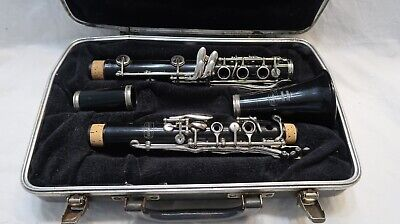 $30 • Buy Bundy Resonite Selmer Clarinet Serial #850971 Made In USA W/case (No Mouthpiece)