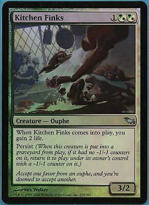 $4.72 • Buy Kitchen Finks FOIL Shadowmoor NM White Green Uncommon CARD (ID# 56826) ABUGames