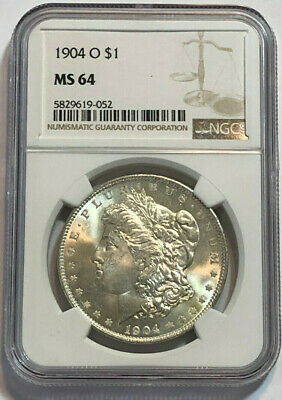$17.50 • Buy 1904-O $1 Morgan Silver Dollar NGC MS 64