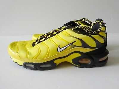$12.34 • Buy Nike Air Max Plus Frequency Pack Mens Shoes Size 10 Tour Yellow Black AV7940-700