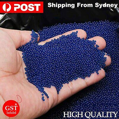 AU5.93 • Buy 7-8mm Gel Balls 10000-50000Pcs COMP HARDENED 7mm-8mm Orange Toy Blue AU Saler