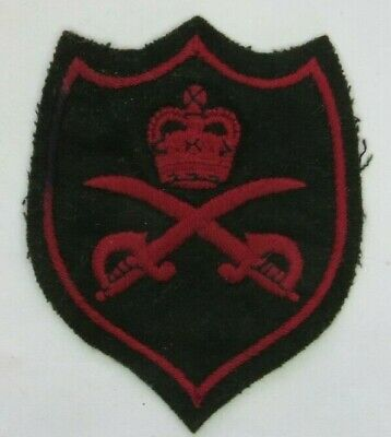 British Army Warrant Officer Physical Training Instructors Vest Badge QC  • 3.50£