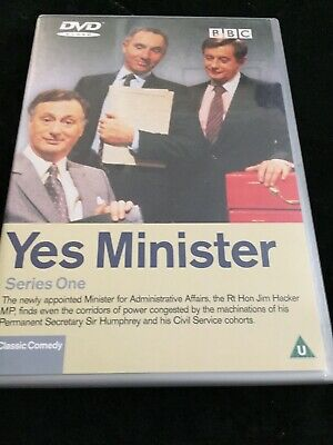 Yes Minister Series One Dvd • 2£