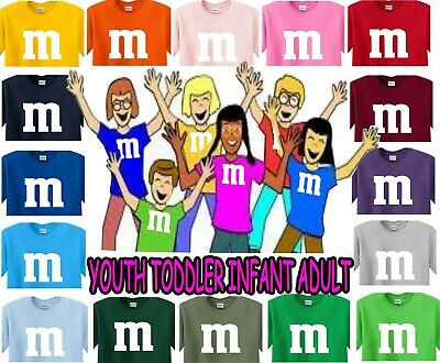 $9.99 • Buy M&m T Shirt Halloween Costume Candy Shirts Youth Adult Infant Toddler M & M M&m