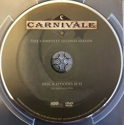 Carnivale Second Season 2 Two -  Disc 4 DVD Only Free Shipping • 3.13£