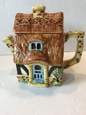 Collectors Pots Of Fun Novelty Tea Pot By Bob Hersey  Pottage  Country Cottage • 10£