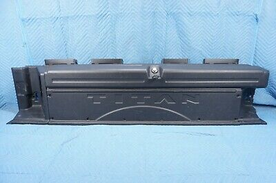 $375 • Buy Nissan Titan XD Bed Box Toolbox Driver Side 2016-2019 Length: 77 Inches OEM