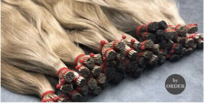 Russian Hair Extensions, I-Tip, Pack Of 25 Strands • 47.54£