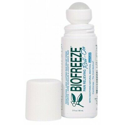 Biofreeze Pain Relieving Gel Roll On - Cold Therapy - 89ml • 7.50£