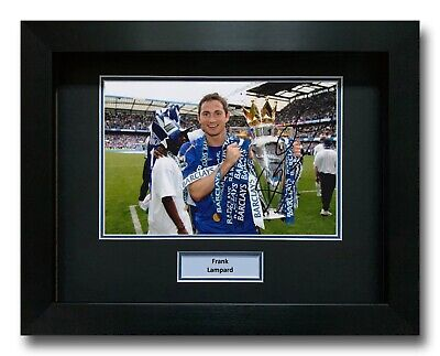 £124.99 • Buy Frank Lampard Hand Signed Framed Photo Display - Chelsea Autograph - Football.