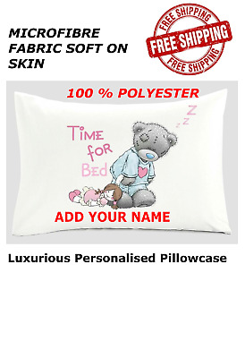 £5.99 • Buy Personalised Me To You Tatty Teddy Bear Pillow Cover 75x48 Cm All Occasion Gift