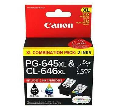 AU36 • Buy Genuine Original Canon PG 645 / CL 646 / PG 645XL / CL 646XL Ink Cartridge