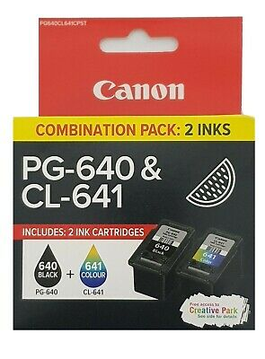 AU35 • Buy Genuine Canon PG 640 / CL 641 / PG 640XL / CL 641XL / PG 640XXL / Combination