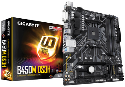 AU300 • Buy Gigabyte GA-B450M-DS3H Micro-ATX B450M Socket AMD4 For AMD Ryzen Processors