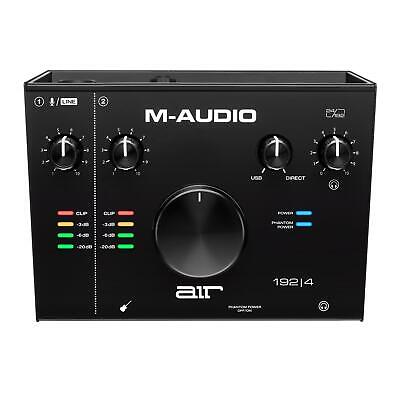 $119 • Buy M-Audio Air 192|4 USB-C Interface With ProTools|First & Ableton 192-4 AIR192-4