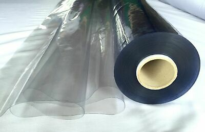 Premium CLEAR PVC Plastic Protective Screen PPE Vinyl Table Protector 54' Wide • 5.50£