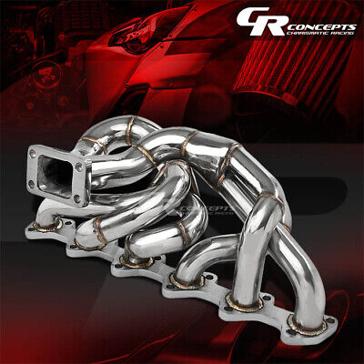 $152.99 • Buy T3 Flanged Top Mount Racing Exhaust Turbo Manifold For Bmw E30 I6 M20 2.5l/2.7l