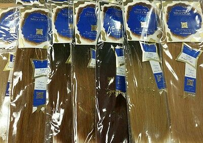 $14.99 • Buy Milky Way 100% Human Hair For Weaving - BLUE DELUXE YAKY(COARSE)