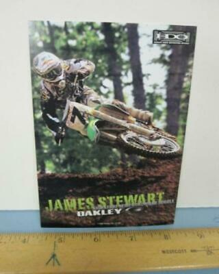 $4.99 • Buy OAKLEY 2006 JAMES BUBBA STEWART Moto-x Dealer Promo Display Card New Old Stock