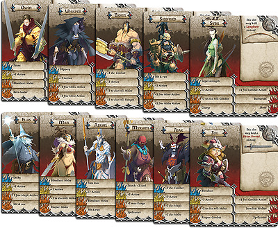 AU149.99 • Buy Massive Darkness Kickstarter Exclusive Zombicide Black Plague CrossOver Cards