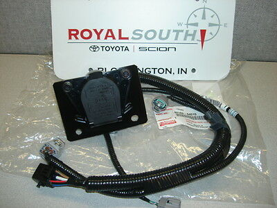 $219.95 • Buy Toyota Tacoma 7 Pin Tow Harness Connector Genuine Factory OE OEM