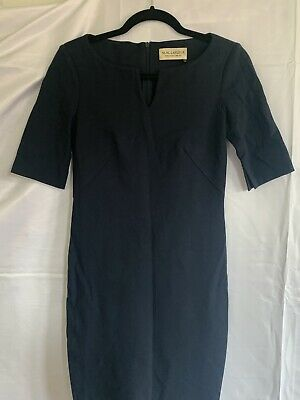 $ CDN93.96 • Buy MM Lafleur Navy Career Dress With V Neck Sz 0