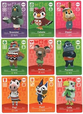 AU6.50 • Buy Animal Crossing Amiibo Cards Series 4 USA New Horizons & Happy Home Designer