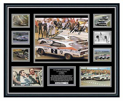 AU99.99 • Buy Allan Moffat Colin Bond 1977 1-2 Finish Bathurst Signed Framed Memorabilia