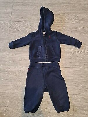 £19.99 • Buy Ralph Lauren Baby Boys Tracksuit. Age 6months. USED.