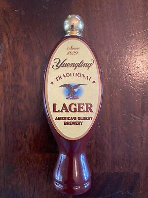 "$10.95 • Buy Yuengling Traditional Lager Mini Beer Used Tap Handle 6"" Tall"