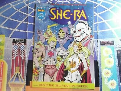 $65 • Buy VINTAGE SHE-RA PRINCESS OF POWER UK COMIC BOOK #9 New Year! Heman Hordak, Motu