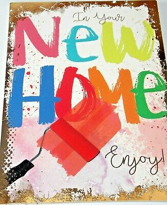 New Home Card. Decorating Theme. Heartstrings Cards. • 1.55£