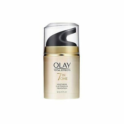 AU23.85 • Buy Olay Total Effects 7 In One Daily Moisturizer Plus Touch Of Foundation
