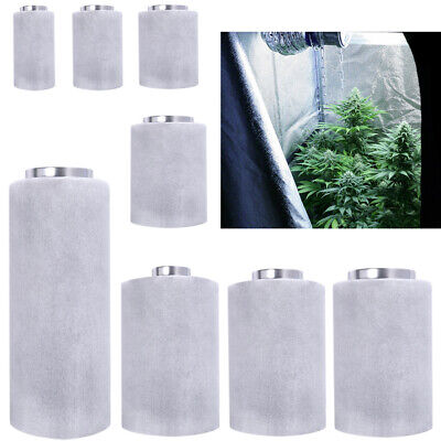 Activated Carbon Charcoal Filter Odor Scrubber Duct Air Grow Room Odour Control • 83.94£