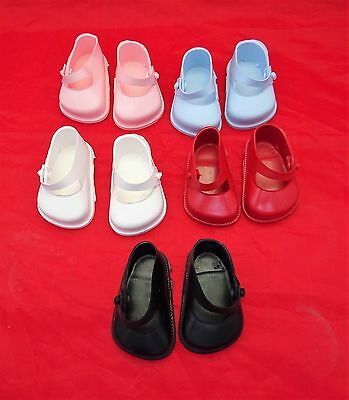 Cinderella  Doll Shoes Strap, Size 0  White, Red,Pink,Blue Or Black • 4.75£