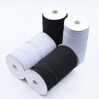 $ CDN11.96 • Buy Elastic Band 1/4 Inches Width (6mm) White/Black 5 Yard To 200 Yard Free Shipping