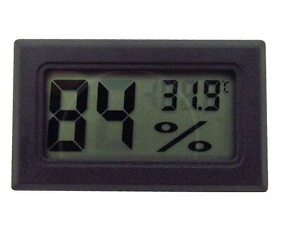 £6.99 • Buy Digital Incubator Humidity Meter Thermometer For Egg Hatching Chicks