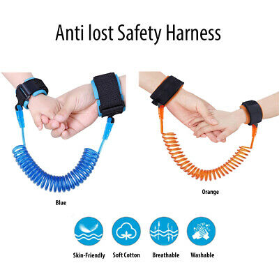 Anti Lost Band Safety Link Harness Toddler Child Kid Baby Wrist Strap Belt Reins • 4.49£